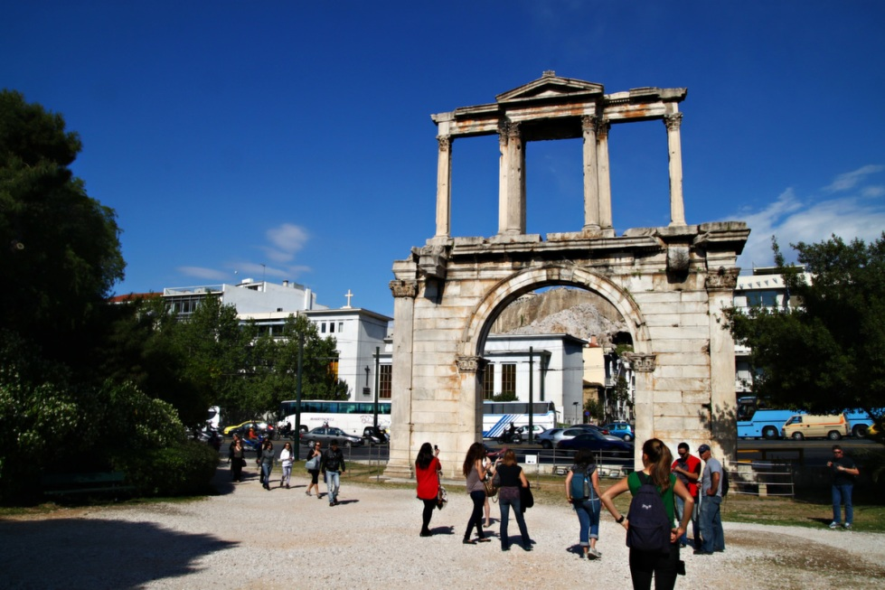 athens hadrian's arch