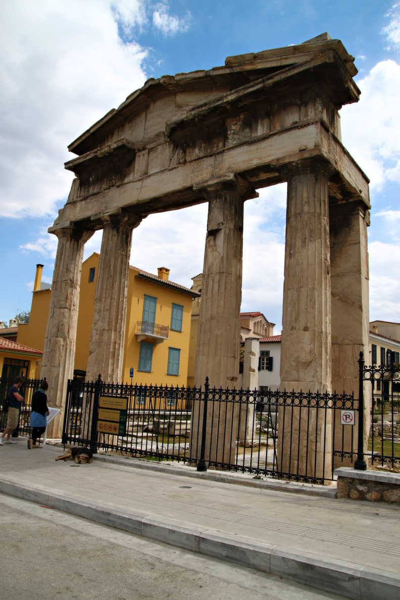 athens roman agora 1