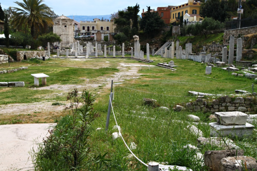 athens roman agora 2