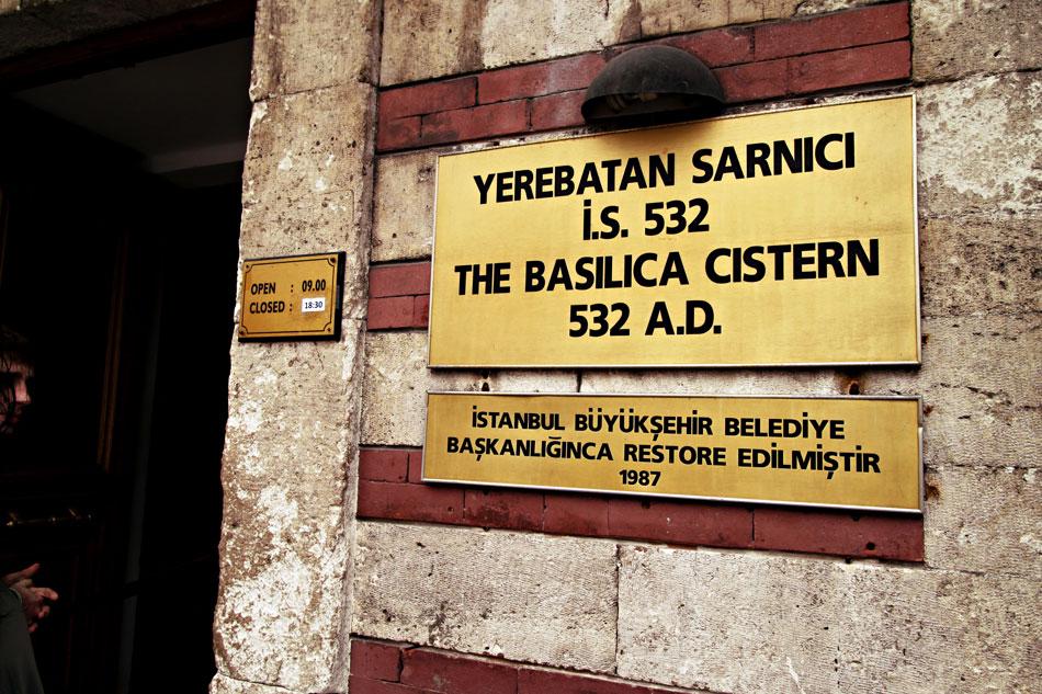 istanbul basilica cistern 1
