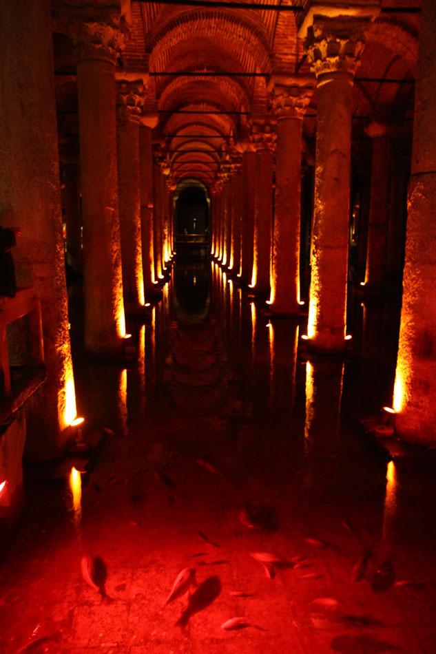 istanbul basilica cistern 2