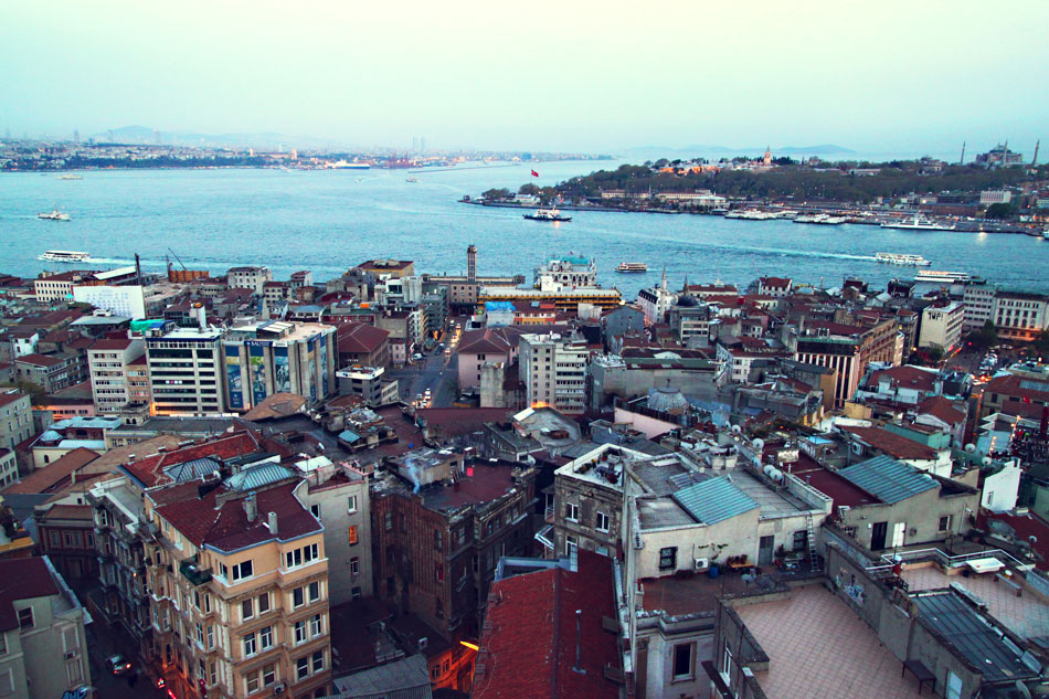istanbul galata tower view 1