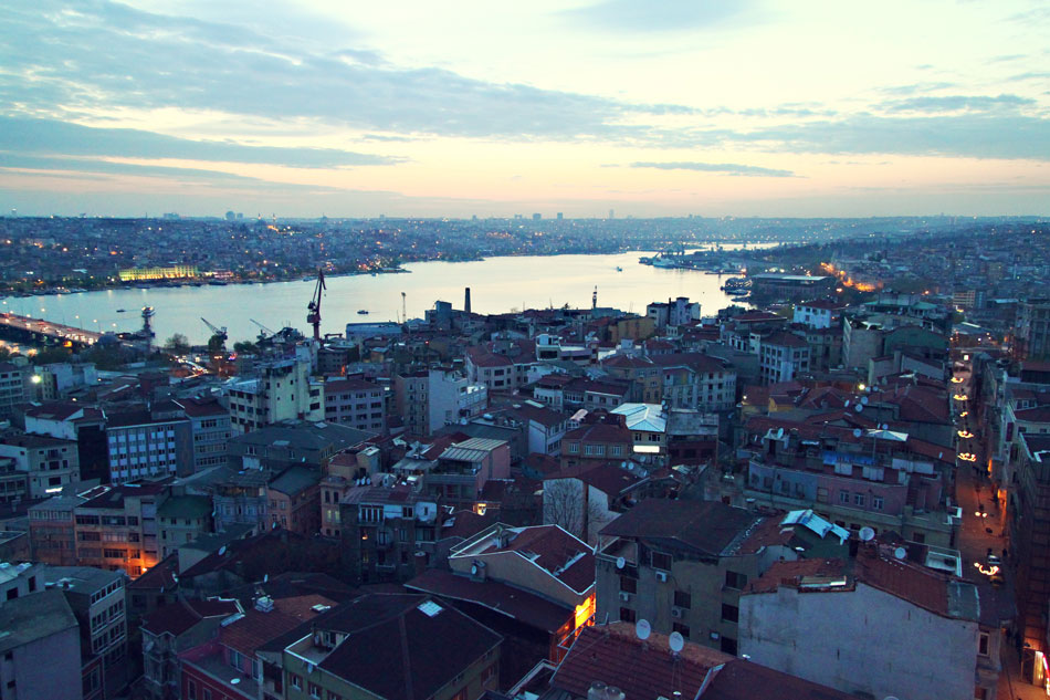 istanbul galata tower view 3