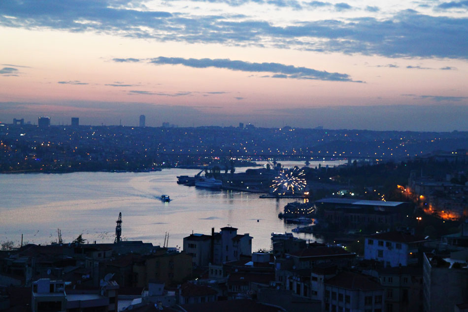 istanbul galata tower view 4