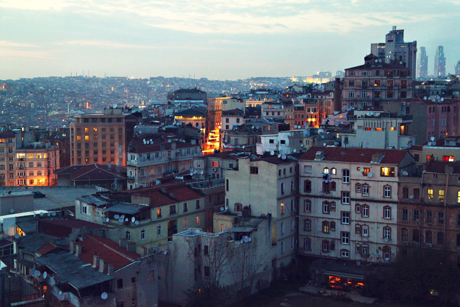 istanbul galata tower view 5