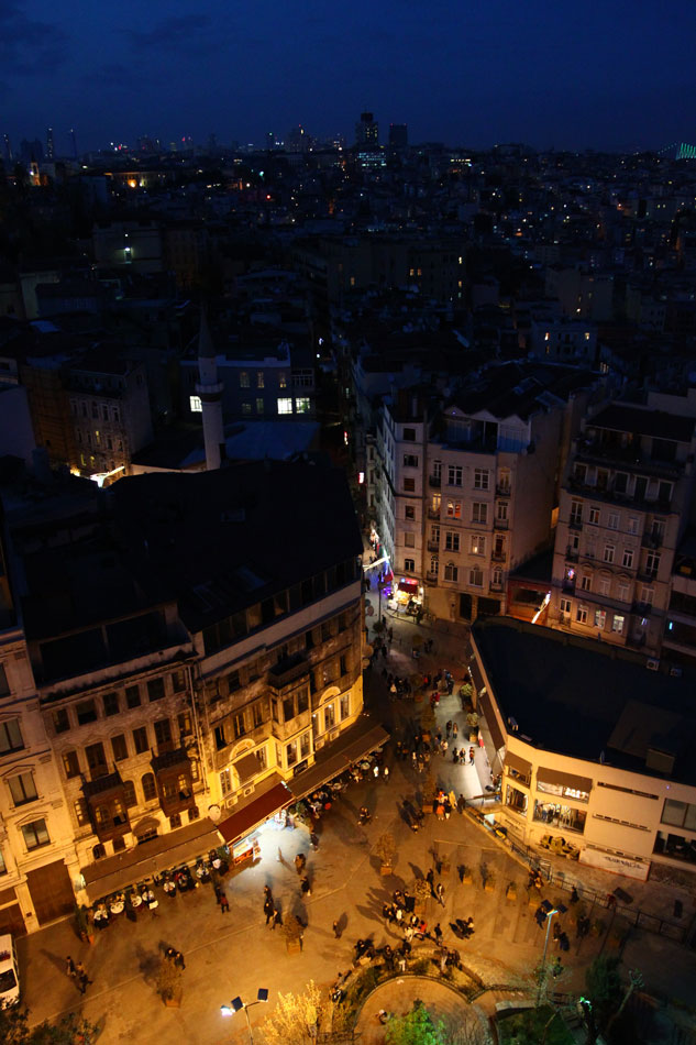 istanbul galata tower view 6