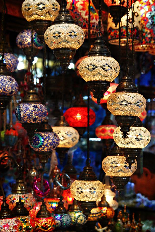 istanbul grand bazaar lamps 1