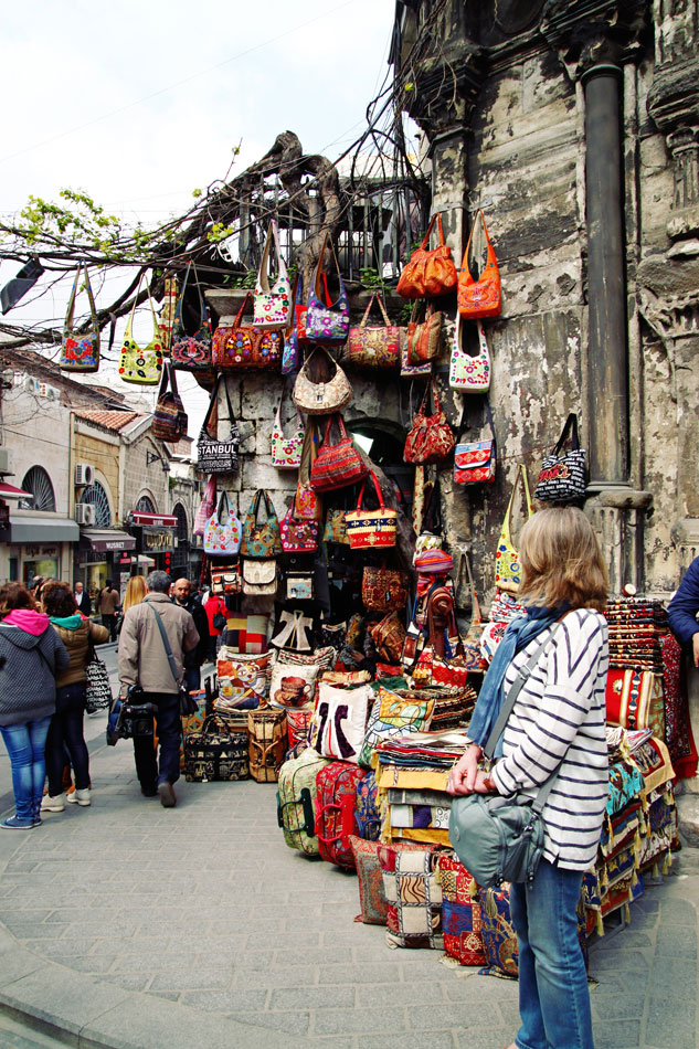 istanbul grand bazaar outside