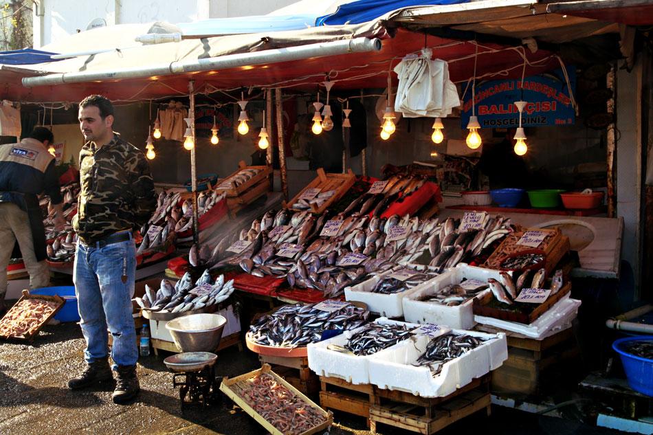istanbul karakoy fish