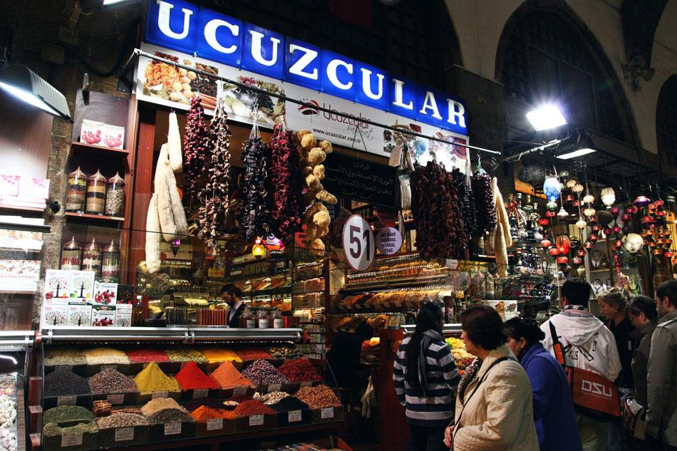 istanbul spice bazaar shop 2