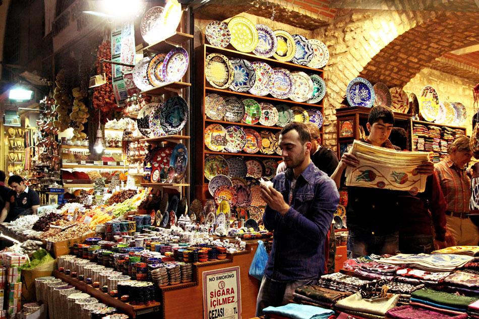 istanbul spice bazaar shop