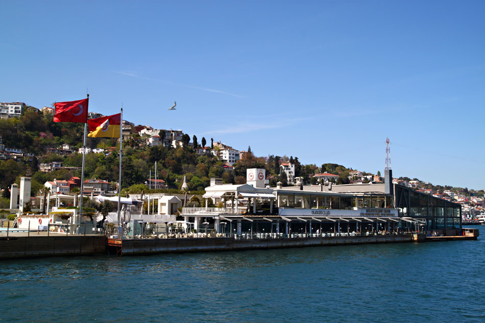 istanbul bosphorus galatasaray islet